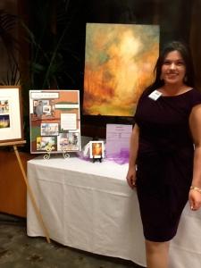 Janna at Elizabeth House Gala 2014